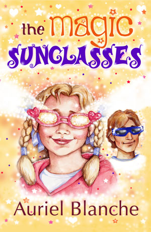 The Magic Sunglasses Book in Paperback form